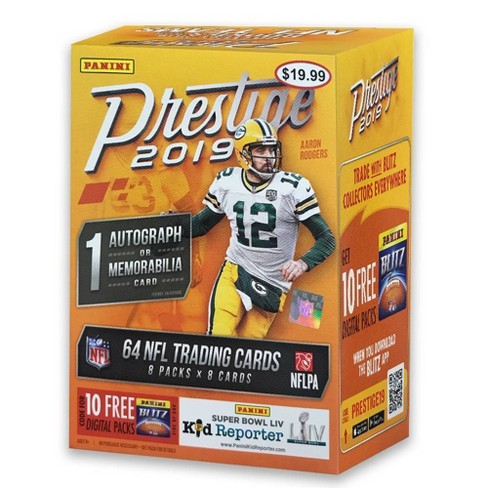 2019 Panini NFL Prestige Football Trading Card Blaster Box - image 1 of 3