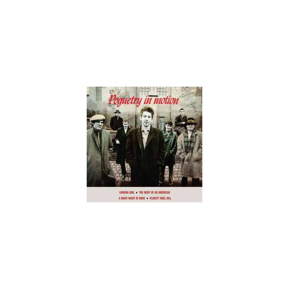 Pogues - Poguetry In Motion (Red) (Vinyl)
