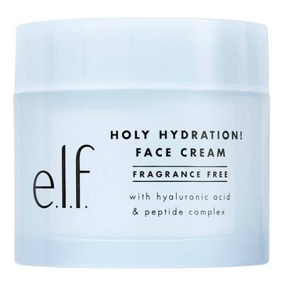 e.l.f. Holy Hydration Face Cream Fragrance Free - 1.8oz
