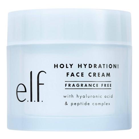 e.l.f. Holy Hydration Face Cream Fragrance Free - 1.8oz - image 1 of 4