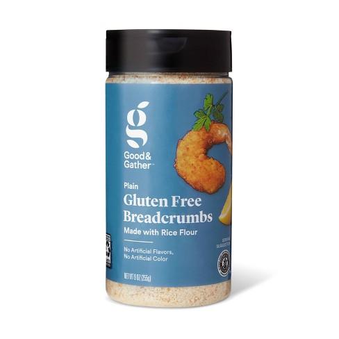 Gluten Free Plain Bread Crumbs - 9oz - Good & Gather™ - image 1 of 2