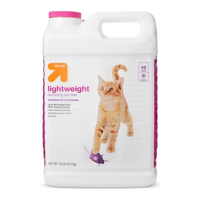 Lightweight Scented Clumping Cat Litter - 10lbs - up & up™