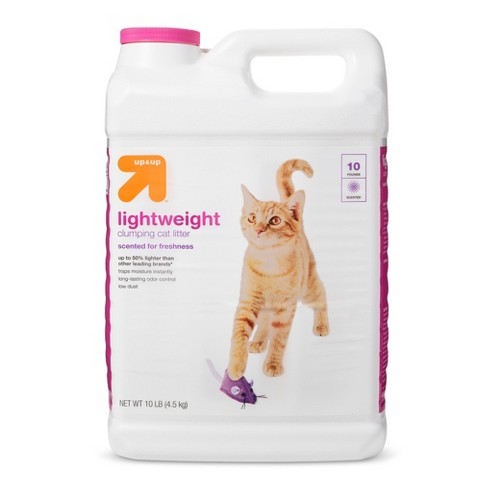 Scented Scoopable Lightweight Cat Litter - 10lb - Up&Up™ - image 1 of 1