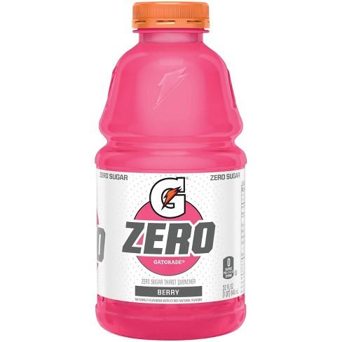Gatorade G Zero Berry Sports Drink - 32 fl oz Bottle - image 1 of 3