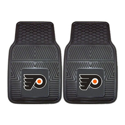 NHL Philadelphia Flyers Vinyl Car Mat Set - 2pc