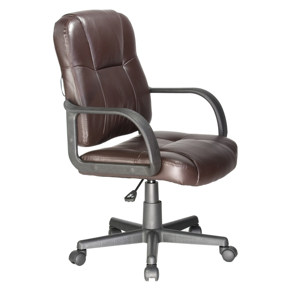 Image of 2 Motor Massage Task Chair Brown - OneSpace