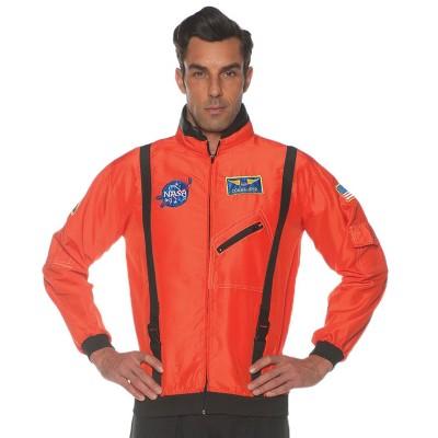Adult Space Jacket Orange Halloween Costume