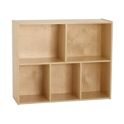 Birch Streamline 5-Compartment Storage Cabinet