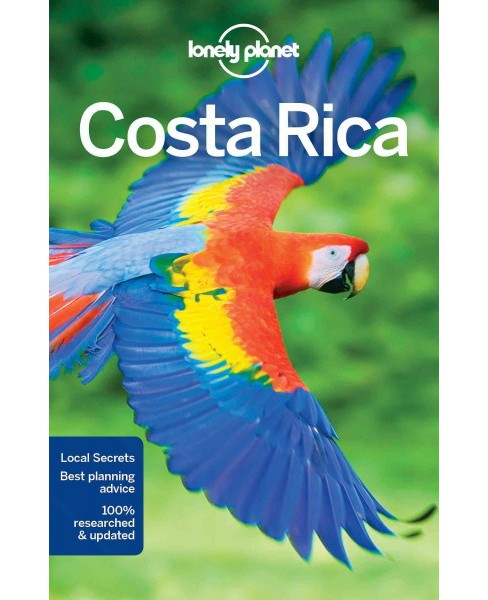 Lonely Planet Costa Rica (Paperback) (Mara Vorhees & Ashley Harrell & Anna Kaminski) - image 1 of 1