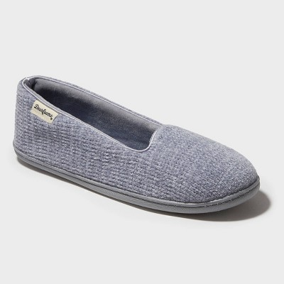 Women's Dearfoams Chenille Closed-Back Loafer Slippers
