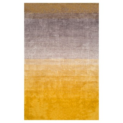 8'x10' Ombre Design Area Rug Yellow - nuLOOM