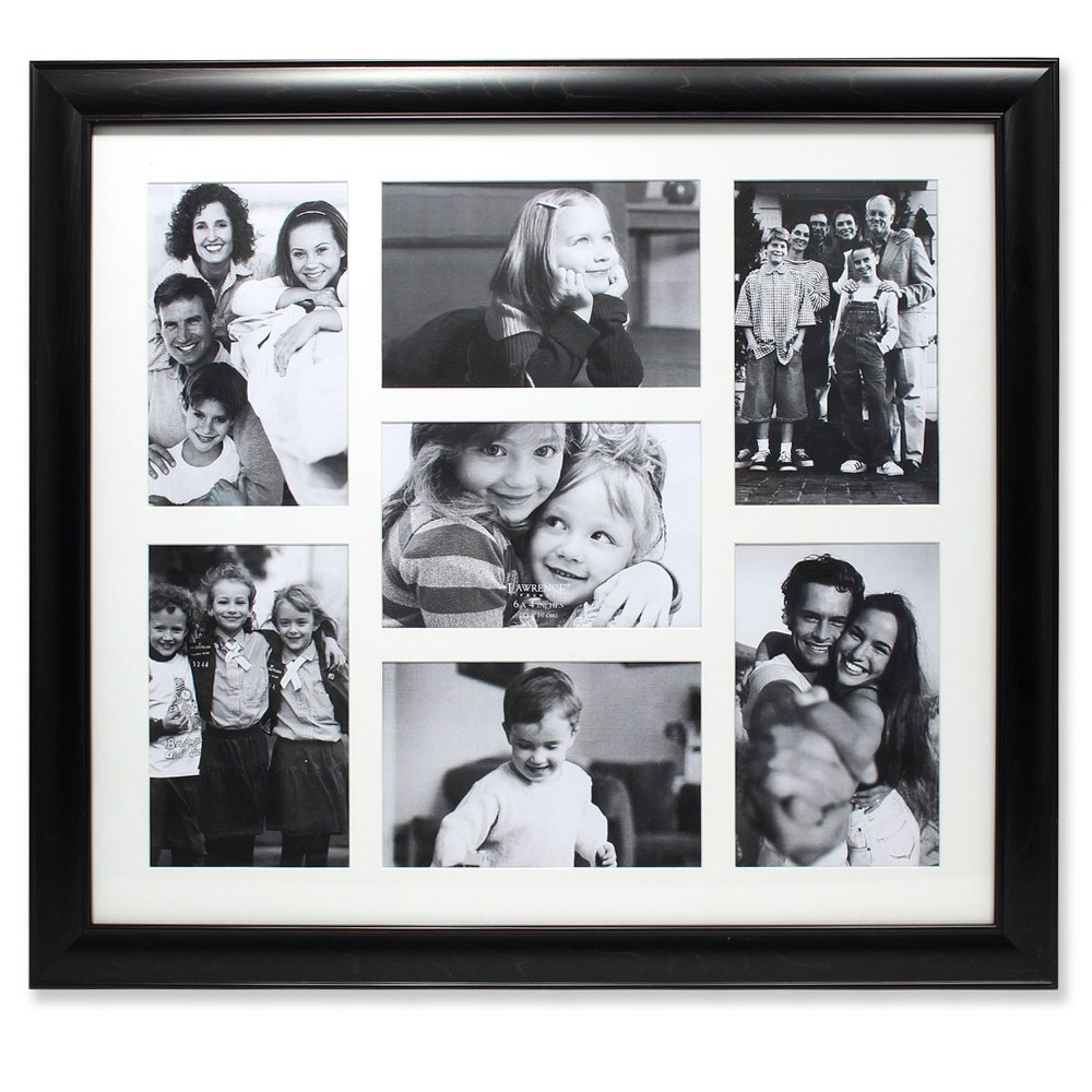 "Image of ""4""""x6"""" Collage Frame Black - Lawrence Frames"""