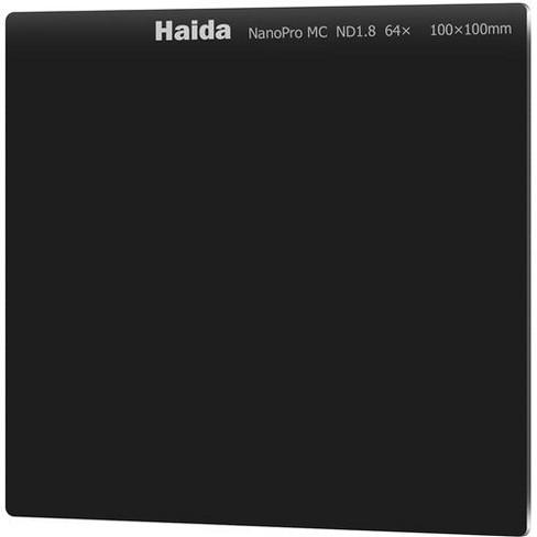 Haida NanoPro MC 100x100mm Neutral Density 1.8X (64) Multi Coated Glass Filter - image 1 of 4