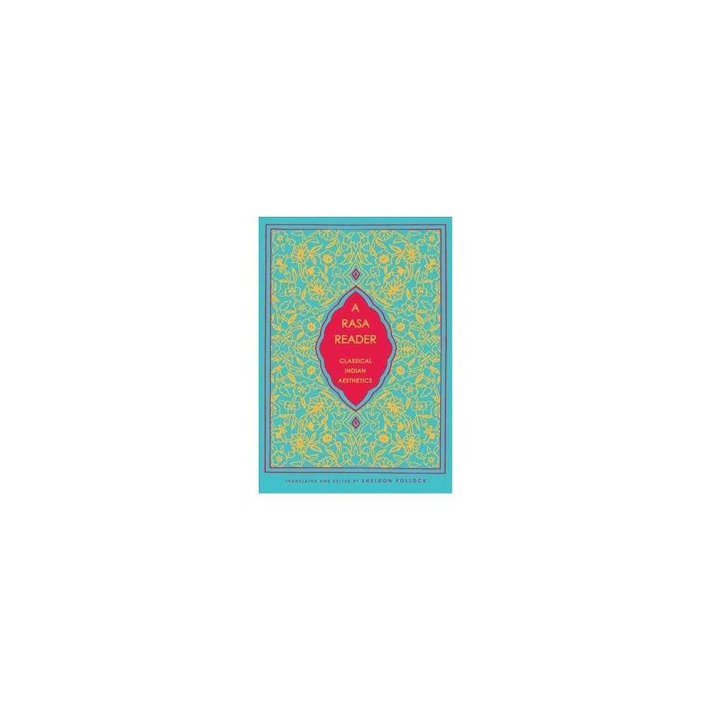 Rasa Reader : Classical Indian Aesthetics - Reprint (Paperback)