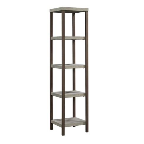 Manhattan Gate Tower Etagere Mystic Oak - Sauder - image 1 of 4