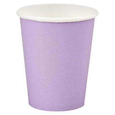 24ct Luscious Lavender Purple Disposable Cups