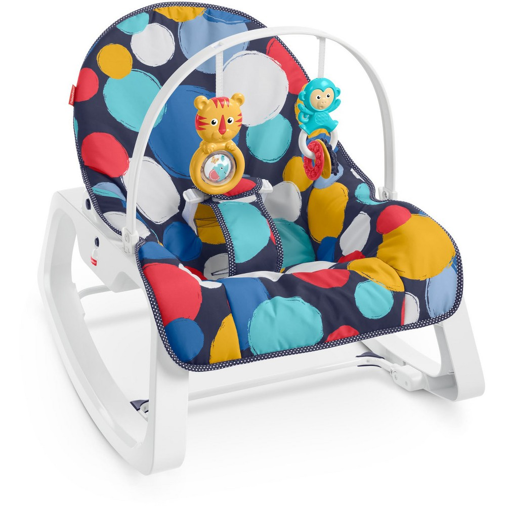 Fisher-Price Infant-to-Toddler Rocker - Bubble Up, Multi-Colored