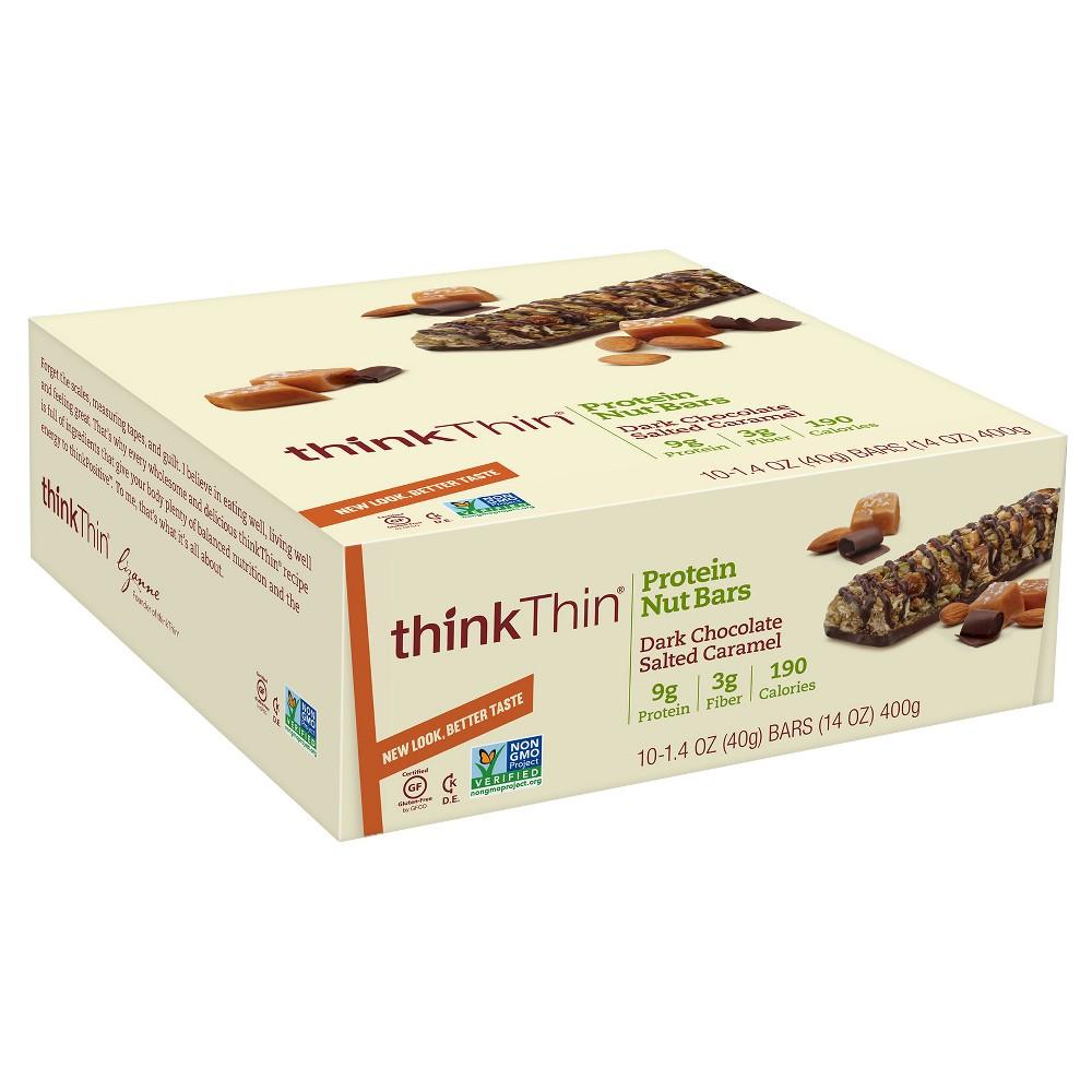 Granola & Protein Bars: thinkThin Protein Nut Bar