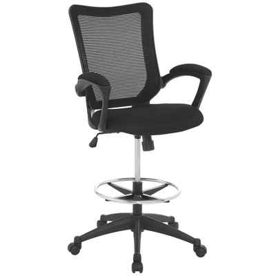 Project Drafting Chair Black - Modway