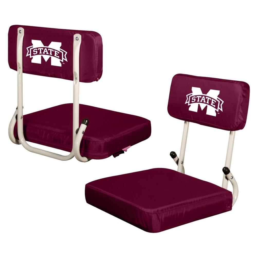 NCAA Mississippi State Bulldogs Logo Brands Hard Back Stadium Seat
