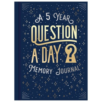 Pre-Printed 5 Year Memory Journal Question A Day