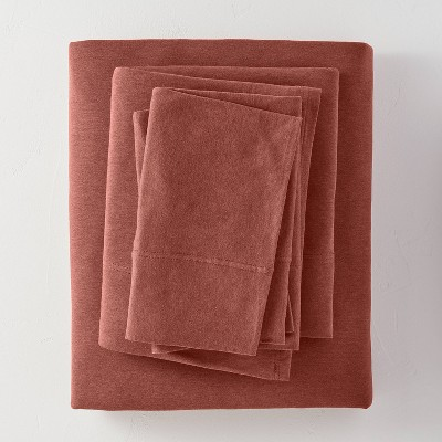 King Tencel Solid Sheet Set Clay - Casaluna™