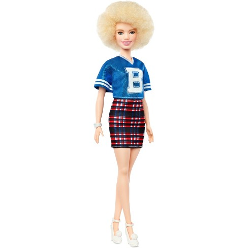Barbie Fashionistas Doll 91 - Curly Hair with Team Jersey - image 1 of 7