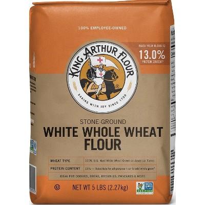 Flours & Meals: King Arthur White Whole Wheat Flour