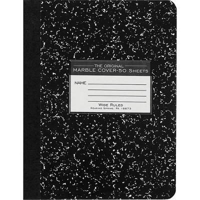 Roaring Spring Marble Composition Book 7 1/2 x 77220