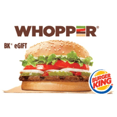 Burger King Gift Card (Email Delivery)