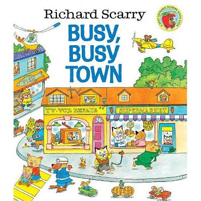 Richard Scarry's Busy, Busy Town ( Golden Look-Look Book)(Hardcover)by Richard Scarry
