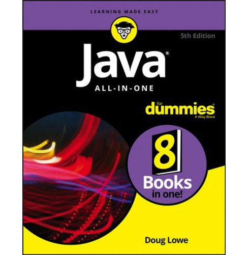 Java All-in-One for Dummies (Paperback) (Doug Lowe) - image 1 of 1