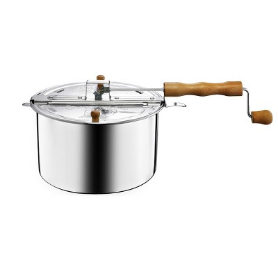 """Great Northern Popcorn 6.5 qt. Stovetop Spin Popper, 9.5"""" x 6.5"""""""