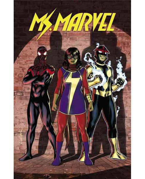 Ms. Marvel 6 : Civil War II (Paperback) (G. Willow Wilson) - image 1 of 1