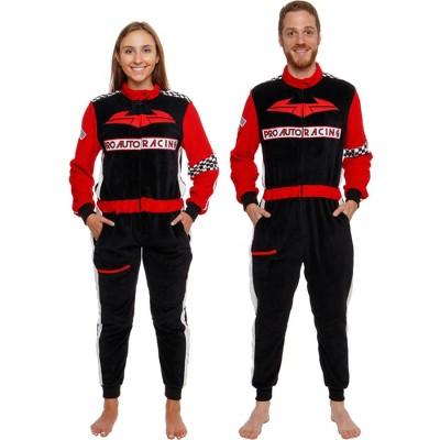 Funziez! Racecar Slim Fit Adult Unisex Novelty Union Suit