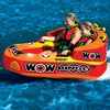 Wow Bingo 2 Inflatable 2 Person Seating Ride Cockpit Towable Water Sports Tube - image 3 of 4