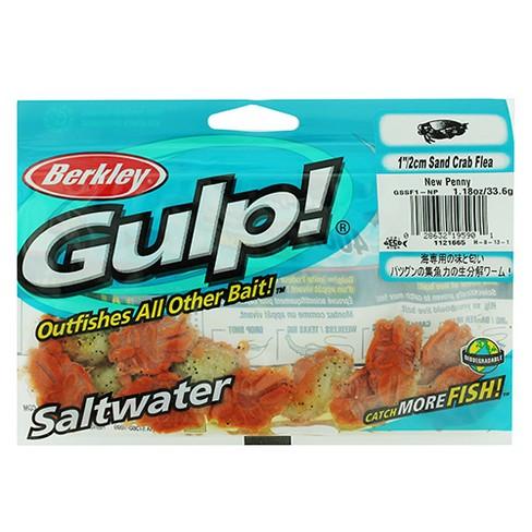 Berkley Gulp! Sand Crab Flea Soft Fishing Bait - 1
