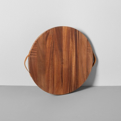 Round Acacia Wood Cutting Board - Hearth & Hand™ with Magnolia