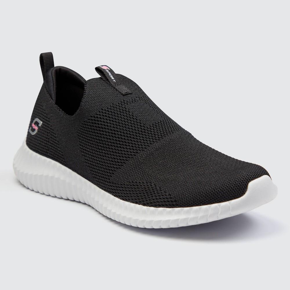 Women 39 S S Sport By Skechers Kendel Apparel Sneakers Black White 9 5