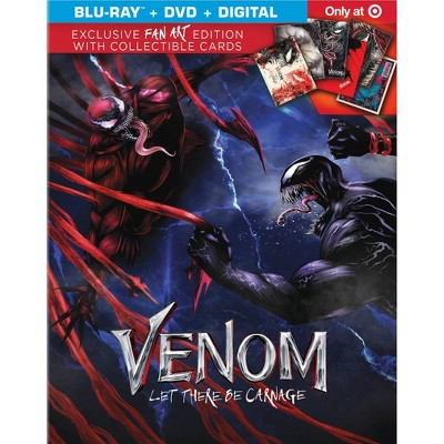 Venom: Let There Be Carnage (Target Exclusive)(Blu-ray + DVD + Digital)