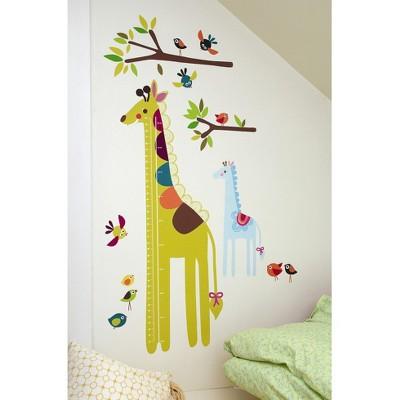 Wallies® Wall Play Giraffe Growth Chart Peel & Stick décor