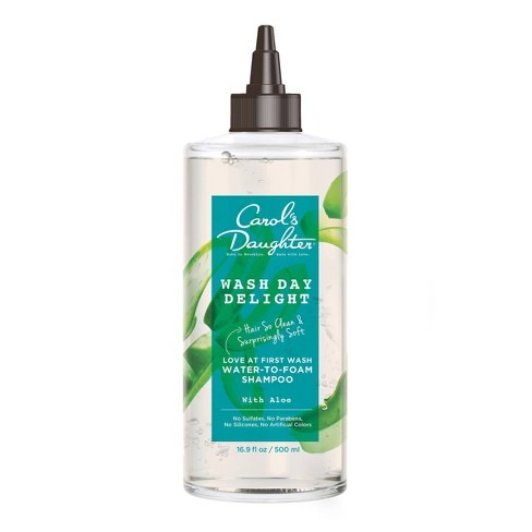 Carol's Daughter Wash Day Delight Water-to-Foam Sulfate Free Vegan Shampoo with Aloe for Curly Hair -16 fl oz - image 1 of 4