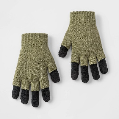 Boys' Gripper Gloves - Cat & Jack™ Green