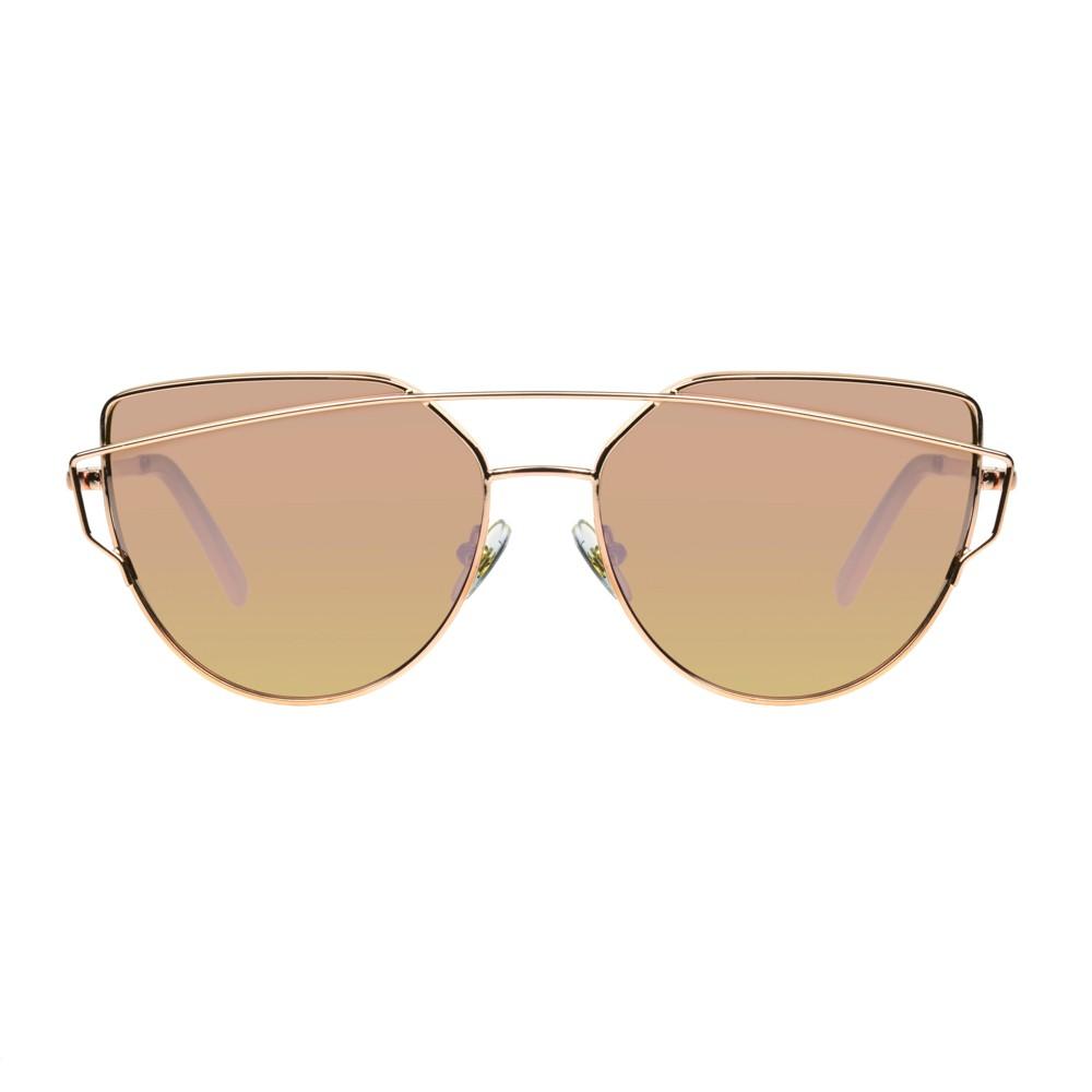 Women's Cat Eye Sunglasses - Wild Fable Light Gold