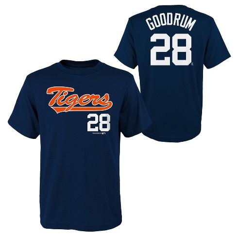sports shoes 5af70 855d7 MLB Detroit Tigers Youth Name & Number T-Shirt