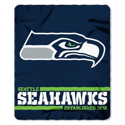 The Northwest Company Seattle Seahawks Fleece Throw , Blue