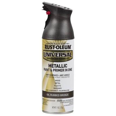 Rust-Oleum 11oz Universal Metallic Oil Rubbed Spray Paint Bronze