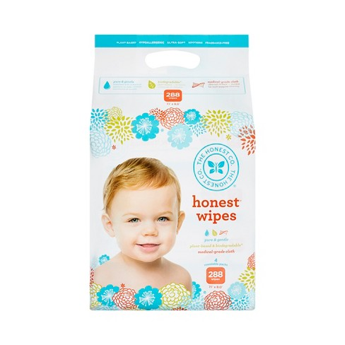 Honest Company Baby Wipes - 288 ct - image 1 of 4