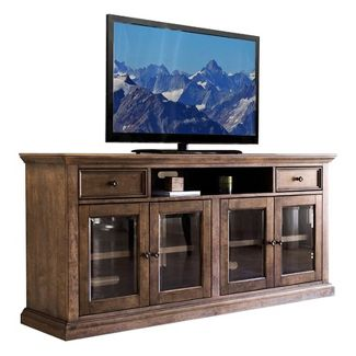 "75"" Capri Weathered Wood Multi Use Console Brown - Abbyson Living"