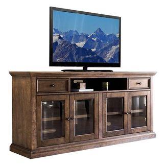 "75"" Capri Weathered Wood Multi Use Console Brown - Abbyson Living"